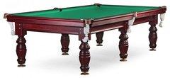 Бильярдный стол для пула «Дебют» 8 ф (махагон) ЛДСП