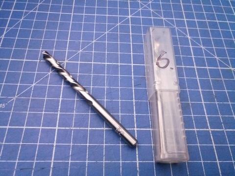 Сверло по металлу ц/x 6,0x93/57мм (LH-Левостороннее) DIN338 h8 5xD HSS-G 135° HSS-Tools 1720-1060