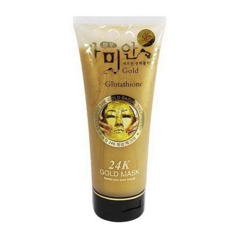 Омолаживающая золотая маска-крем для лица Gold L-Glutathione 24K, 220 мл