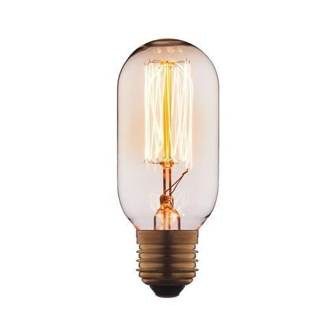 Лампа накаливания E27 40W цилиндр прозрачный 4540-SC