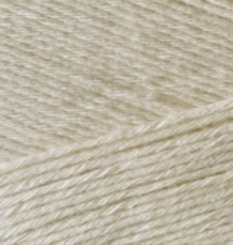 Пряжа Bamboo Fine Alize 67 молочно-бежевый, фото
