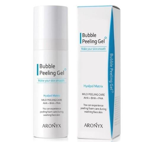 ARONYX Bubble Peeling Gel Aronyx Кислородная маска-скатка 100мл MediFlower
