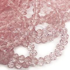 Бусины рондели Light Rose светло-розовые купить оптом