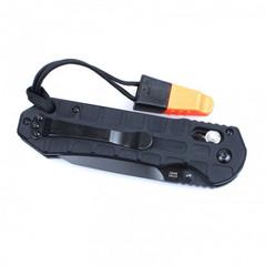 Складной нож Ganzo G7453P-WS (черный, оранжевый)