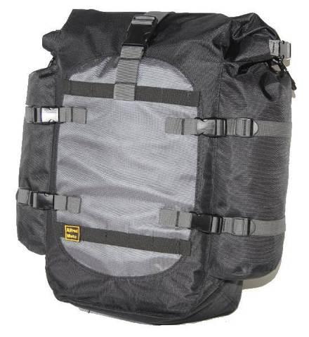 Текстильные боковые сумки для мотоцикла Alfred Moto