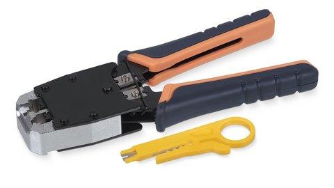 Инструмент обжимной для RJ-45, RJ-11/12 HT-500 (7829c)