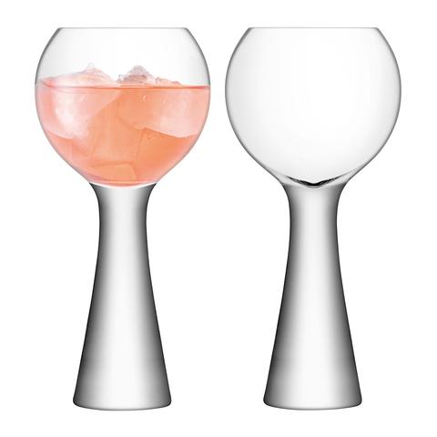 Набор из 2 бокалов для вина Moya 550 мл прозрачный