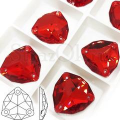Стразы пришивные купить оптом Light Siam, Trilliant красные