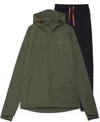 Элитный костюм для зимнего бега Gri Темп мужской оливковый