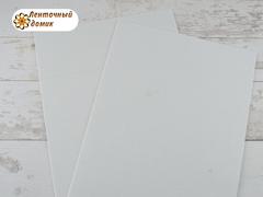 Фоамиран с блестками белоснежный 2мм (уценка)