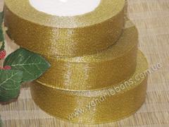 Лента парча золотая ширина 2,5 см