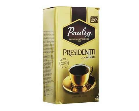 Кофе молотый Paulig Presidentti Gold Label, 250 г