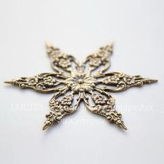 Винтажный декоративный элемент - филигрань