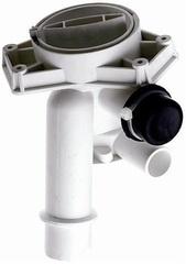 Корпус насоса (улитка)  в сборе с заглушкой для стиральных машин Канди 49002227