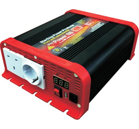 Преобразователь тока (инвертор) Sterling Power ProPower SB 600 USB (чистый синус)