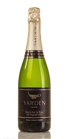 Golan Heights Winery Yarden Katzrin Blanc de Blancs Brut в подарочной упаковке