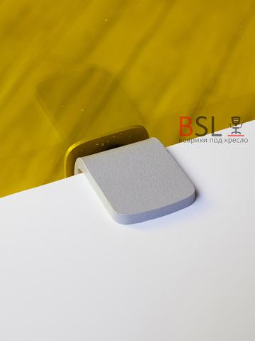 Экран на струбцинах (05 серые) желтый прозрачный Ш. 1000мм