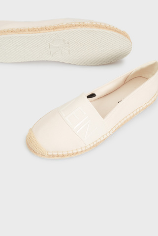 Женские белые эспадрильи SPADRILLE ROPED TOE CO Calvin Klein