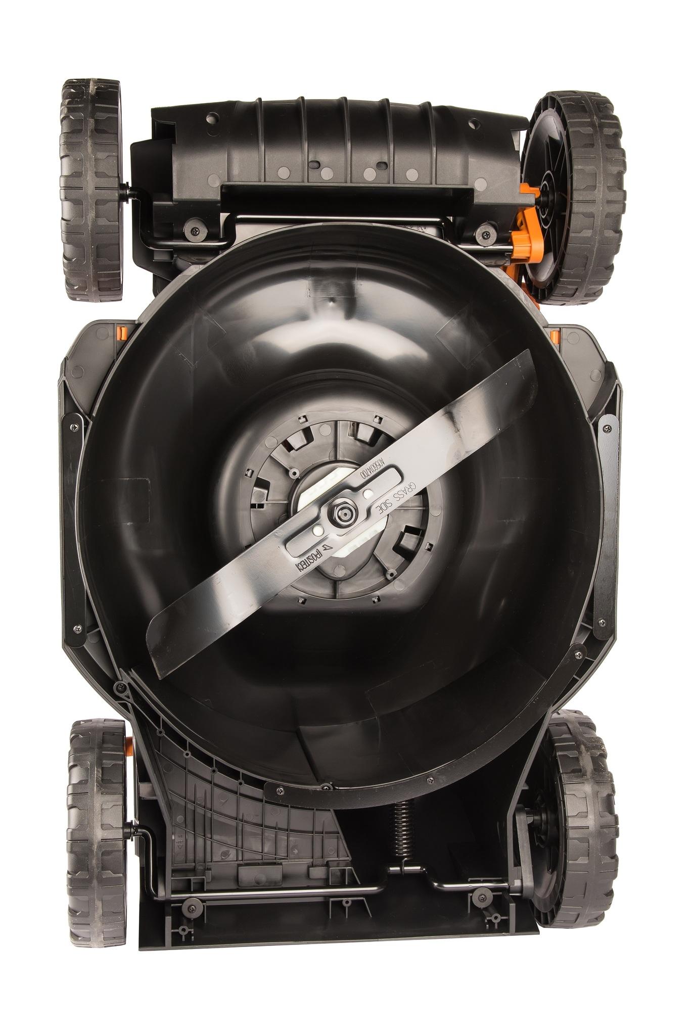 Газонокосилка аккумуляторная WORX WG743E.9, 40В (2×20В), 40cm, без АКБ и ЗУ