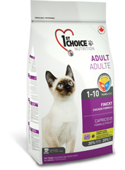 Корм для привередливых взрослых кошек, 1st Choice Finicky, с цыпленком