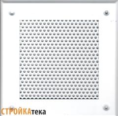 Решетка 150*150 белая, кружок