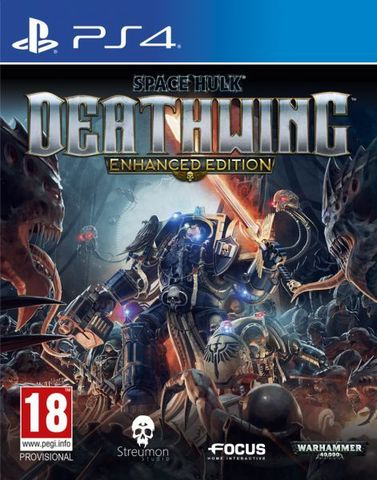 Space Hulk Deathwing. Enhanced Edition (PS4, русские субтитры)