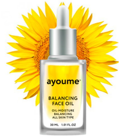 AYOUME Масло для лица восстанавливающее AYOUME Balancing Face oil with Sunflower 30мл