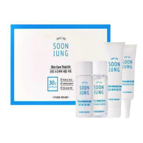 ETUDE HOUSE Soonjung Skin Care Trial Kit