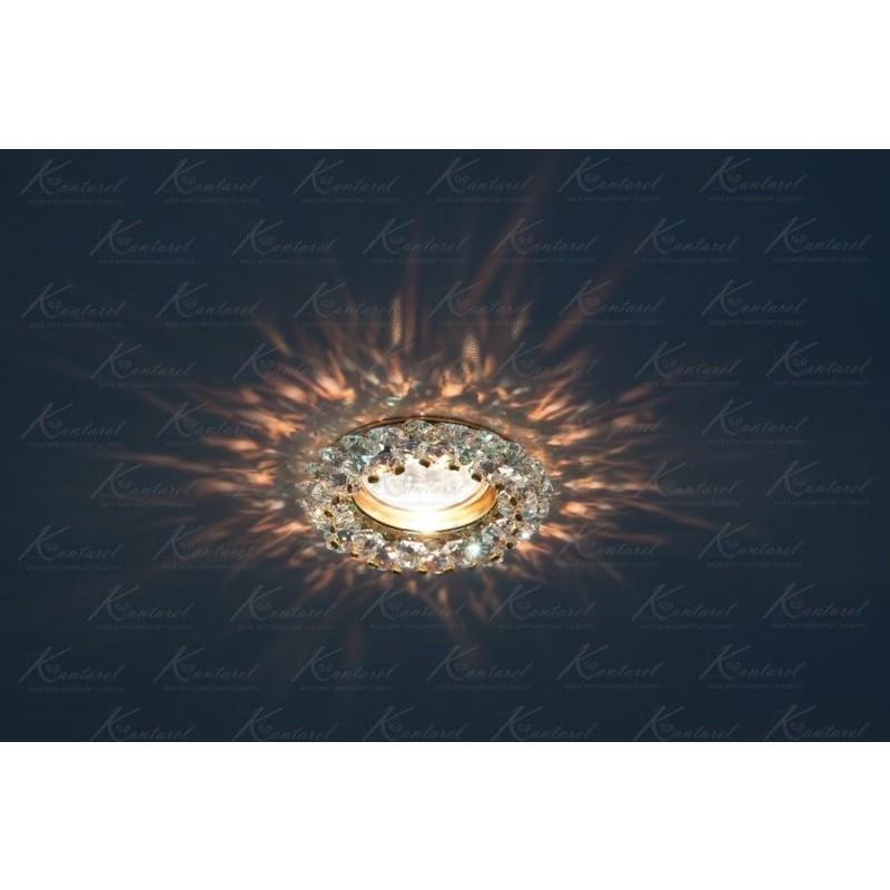 Встраиваемый светильник Kantarel Vasilek Square CD 028.3.1AB MR11