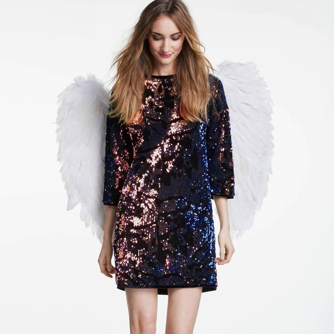 Oui Платье в пайетки