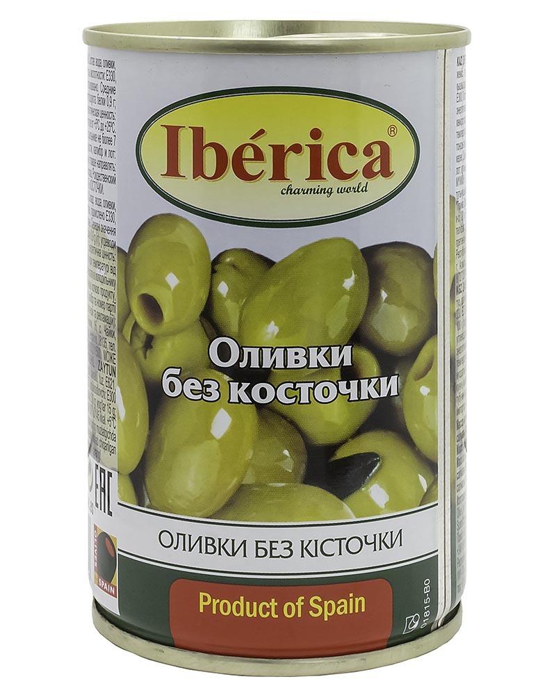 Оливки Iberica без косточки 420 гр