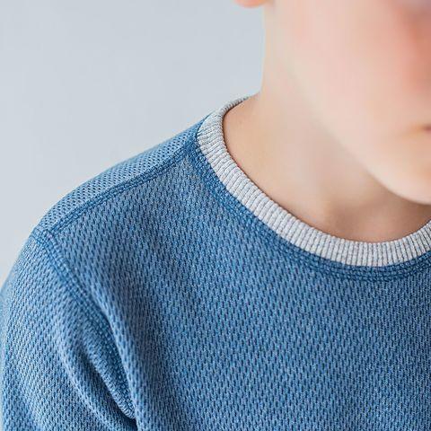 Thermal underwear set for teens - Denim