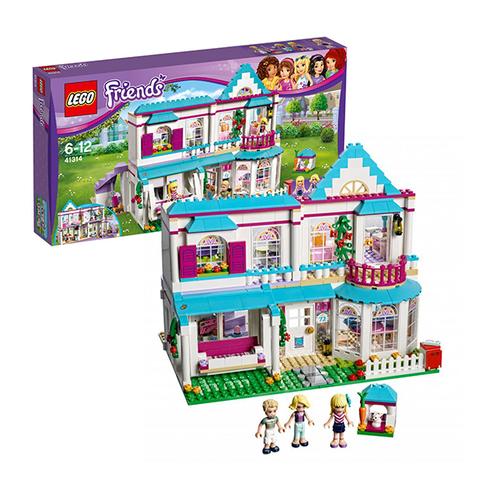 LEGO Friends: Дом Стефани 41314 — Stephanie's House — Лего Френдз Друзья Подружки