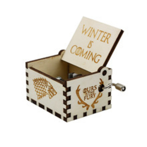 Music Box Game Of Thrones (white)