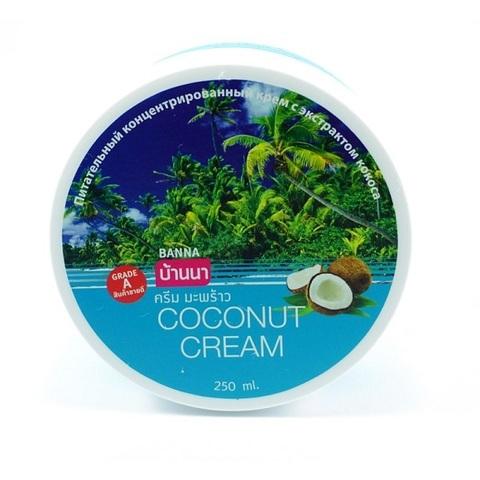 Крем для тела с Кокосом Banna Coconut Cream, 250 мл