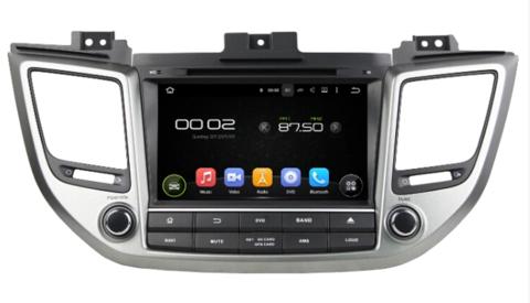 Магнитола KD-8085  Hyundai Tucson (2016-2018) Android 8.1