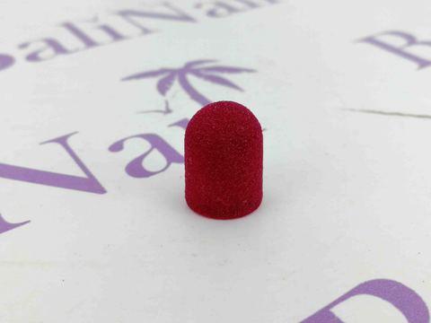 Колпачки абразивные D 10 x 15мм (180 F), 1 шт (розовый)