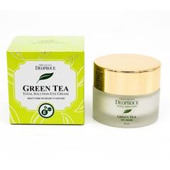 Крем для век увлажняющий с экстрактом зеленого чая PREMIUM DEOPROCE GREENTEA TOTAL SOLUTION EYE CREAM 30ml 30мл