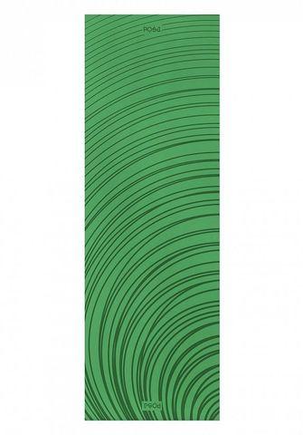 Легкий коврик для йоги Non-slip Ripple Green 183*61*0,6м