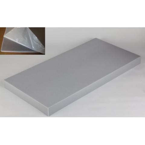 негорючая  акустическая панель ECHOTON FIREPROOF 100x50x7cm   серый с адгезивным слоем