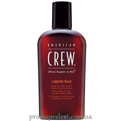 American Crew Classic Liquid Wax - Жидкий воск для волос