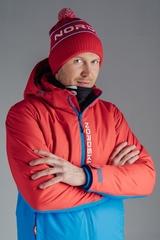 Утеплённая прогулочная лыжная куртка Nordski Montana RUS Red-Blue мужская