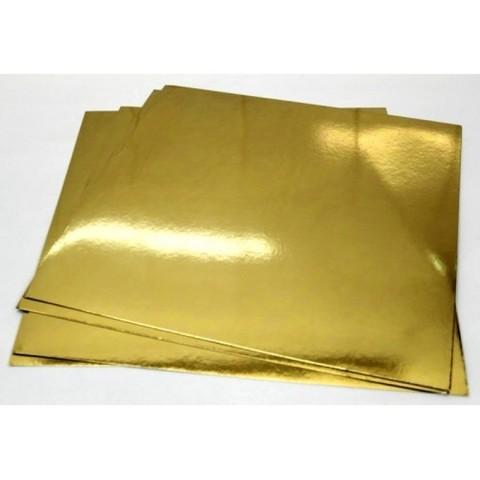 Подложка 30*40 см (1.5 мм) золото/белый