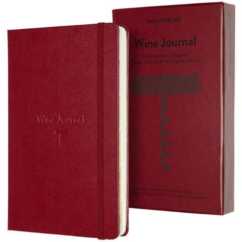 Блокнот Moleskine PASSION WINE PASWINE 130х210мм 400стр. подарочная коробка, винный