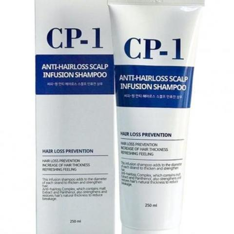 Шампунь против выпадения волос CP-1 Anti-Hair Loss Scalp Infusion Shampoo