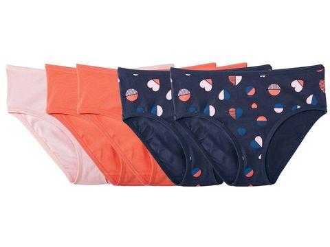 Трусы для девочки 3 шт. (2 оранжевых и 1 розовые) Pepperts