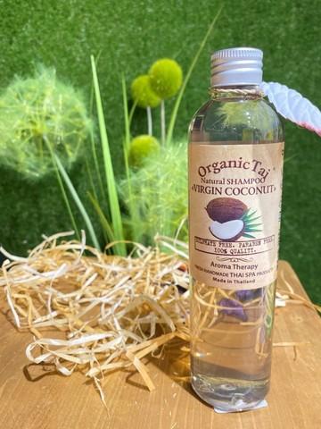 Шампунь натуральный Вирджин Кокос Organic Tai 260мл Таиланд