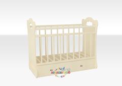 Детская кроватка «Bianca» 1200х600