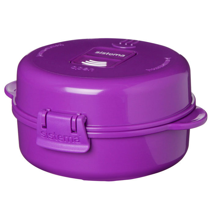 "Омлетница-яйцеварка для СВЧ Sistema ""Microwave"" 271 мл, цвет Фиолетовый"
