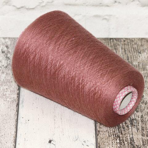 Кашемир с шелком (30%) CARIAGGI JAIPUR 2/56 розово-коричневый